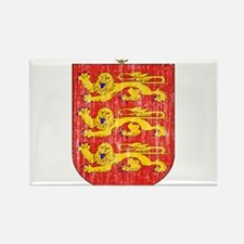 Guernsey Coat Of Arms Rectangle Magnet (10 pack)