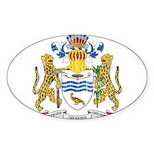 Guyana Coat Of Arms Decal