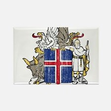 Iceland Coat Of Arms Rectangle Magnet (10 pack)