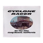 Cyclone Racer Throw Blanket