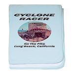 Cyclone Racer baby blanket