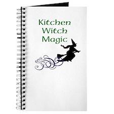 Kitchen Witch Magic Journal (white)