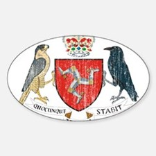 Isle of Man Coat Of Arms Decal