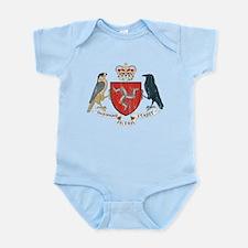 Isle of Man Coat Of Arms Infant Bodysuit