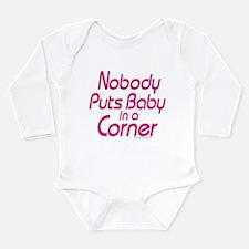 Baby in a Corner Long Sleeve Infant Bodysuit