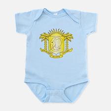 Ivory Coast Coat Of Arms Infant Bodysuit