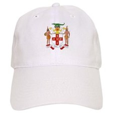 Jamaica Coat Of Arms Baseball Cap