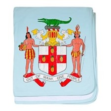 Jamaica Coat Of Arms baby blanket