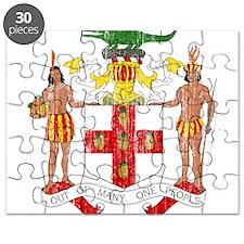 Jamaica Coat Of Arms Puzzle