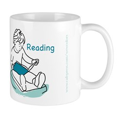 Child Reading Mug