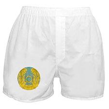 Kazakhstan Coat Of Arms Boxer Shorts