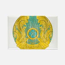 Kazakhstan Coat Of Arms Rectangle Magnet
