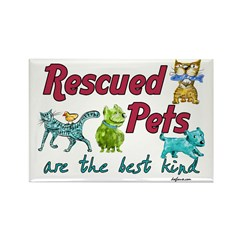 Best Kind Rectangle Magnet (100 pack)