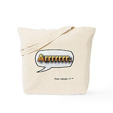 Tote Bag Pirate Lifestyle TV Arrrrr