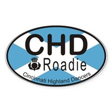 CHD Roadie Logo Decal