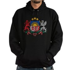 Latvia Coat Of Arms Hoodie