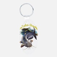 The Catfish Showdown Logo Keychains