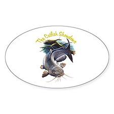 The Catfish Showdown Logo Decal