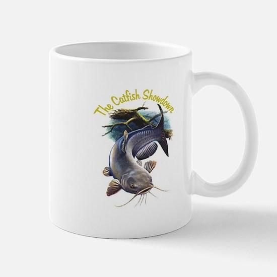 The Catfish Showdown Logo Mug