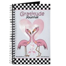 Pink Flamingo Gratitude Journal