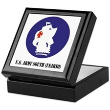 U.S. Army South (USARSO) with Text Keepsake Box