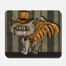 steampunk grey Mr Tipps Mousepad