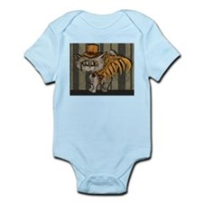 steampunk grey Mr Tipps Infant Bodysuit