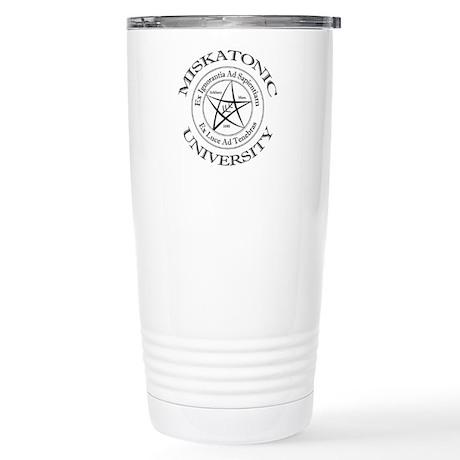 Miskatonic University Stainless Steel Travel Mug