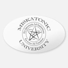 Miskatonic University Sticker (Oval)