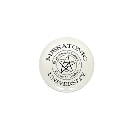 Miskatonic University Mini Button