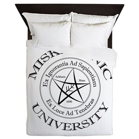 Miskatonic University Queen Duvet