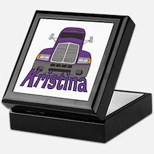Trucker Kristina Keepsake Box