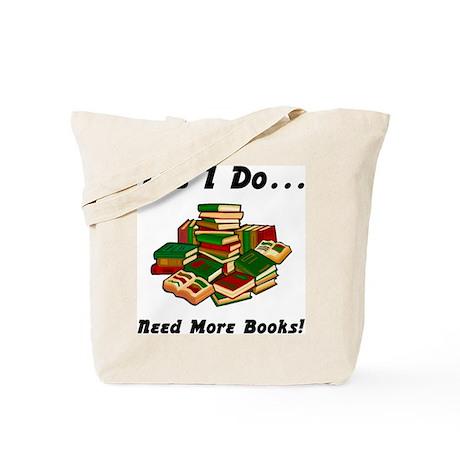 More Books! Tote Bag