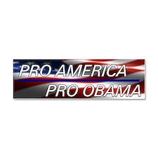 Pro Obama Car Magnet 10 x 3