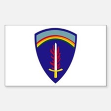 U.S. Army Europe (USAREUR) Sticker (Rectangle)