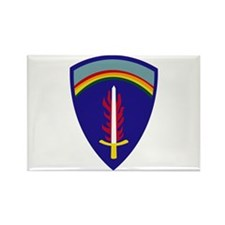 U.S. Army Europe (USAREUR) Rectangle Magnet