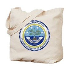Micronesia Coat Of Arms Tote Bag