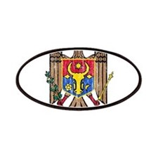 Moldova Coat Of Arms Patches
