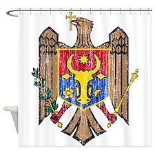 Moldova Coat Of Arms Shower Curtain
