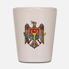 Moldova Coat Of Arms Shot Glass