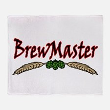 BrewMaster2.png Throw Blanket