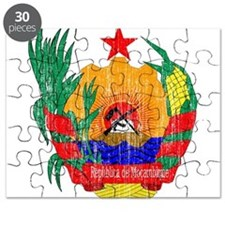 Mozambique Coat Of Arms Puzzle
