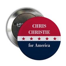 """Chris Christie for America 2.25"""" Button (10 pack)"""