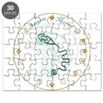 Serpent Mound Spiral Puzzle