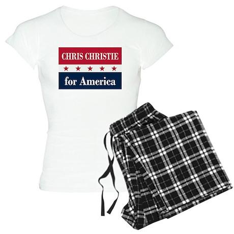 Chris Christie for America Women's Light Pajamas