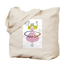 hula hoop princess Tote Bag