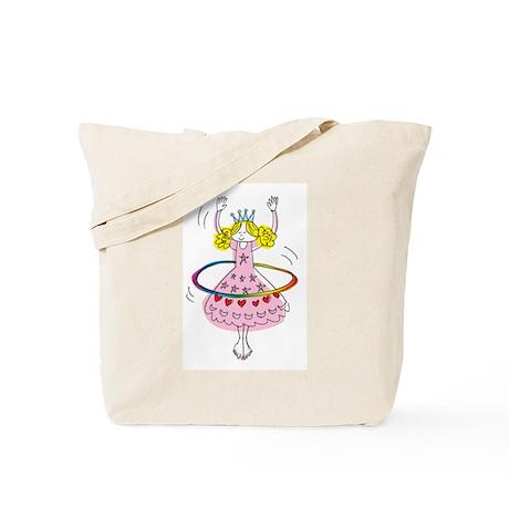 hula hoop princess Tote Bag
