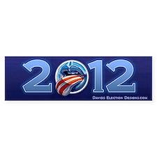 Oblahma Obama Logo Bumper Sticker