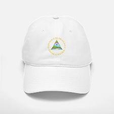 Nicaragua Coat Of Arms Baseball Baseball Cap