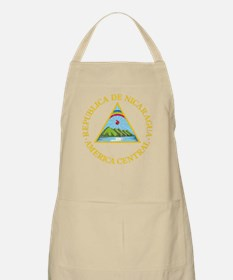 Nicaragua Coat Of Arms Apron